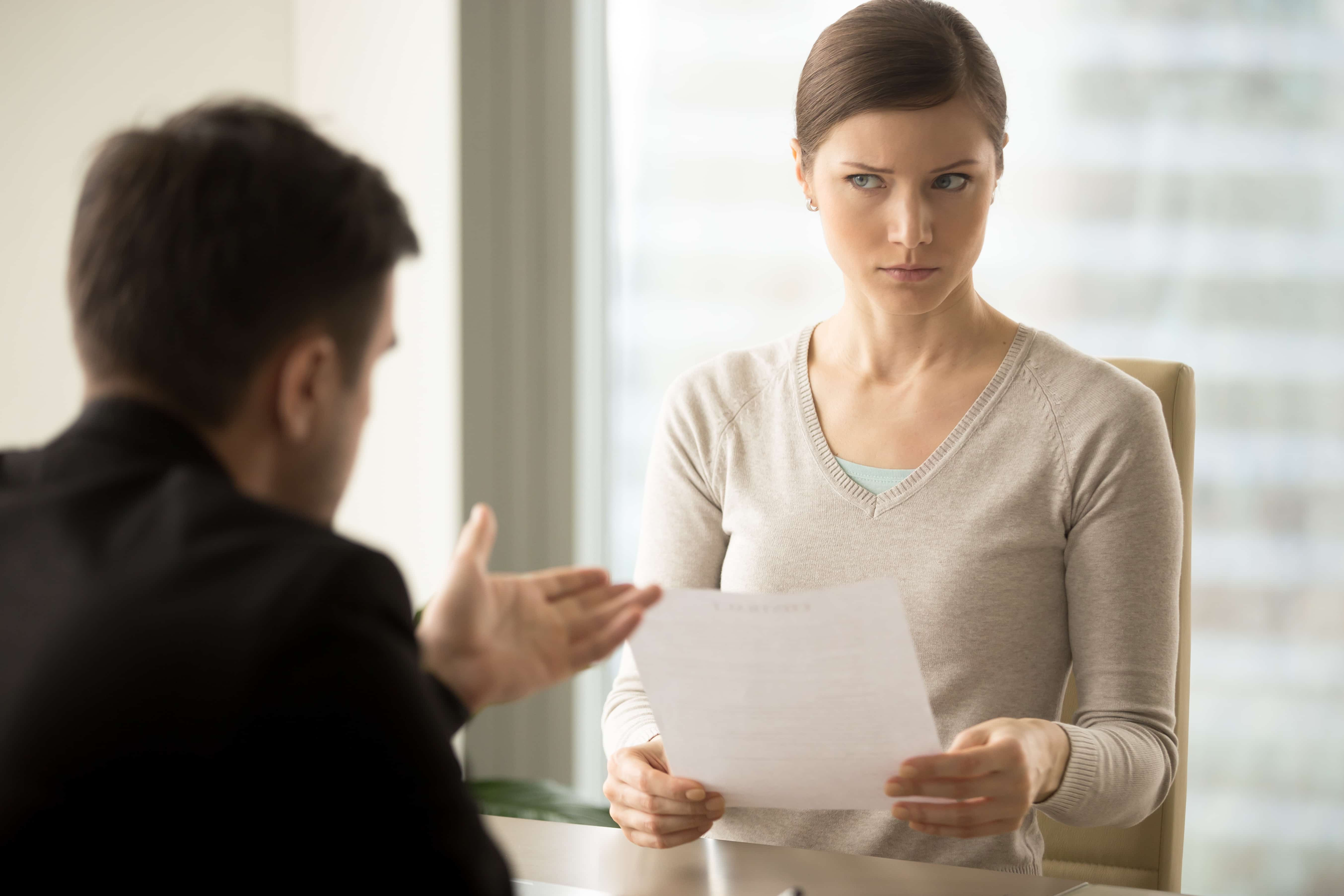 Dealing with an Unhappy Customer